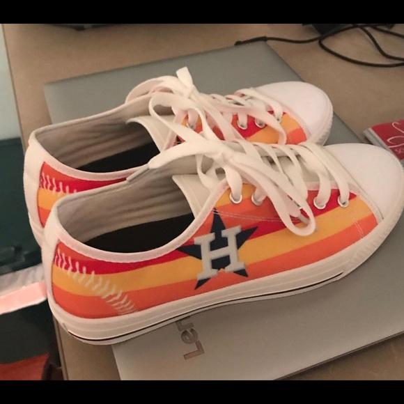 Ladies Custommade Houston Astros Shoes